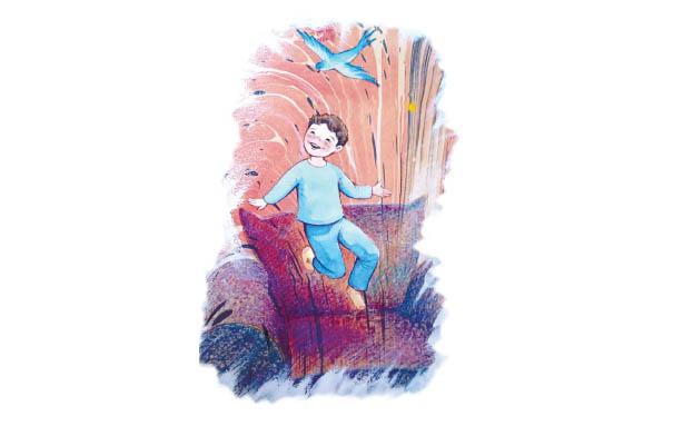 ҚОЛЫҢДЫ БЕР, КӨКЖҮЗІ! (Түркиялық балалар жазушысы Ташеттин Шимшектің «Yeşil Gözlü Kardan Adam» кітабынан «Ver elini gökyüzğü» хикаясы)